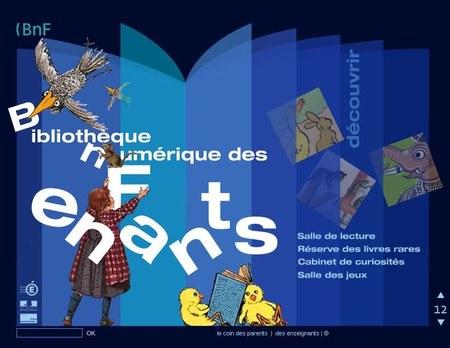 Biblio numérique enfant